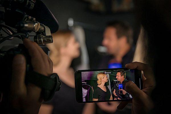 Feli si Horia brenciu la filmarile videoclipului prisonier, tandri