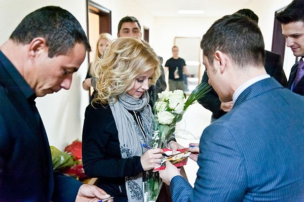 Bogdan Mihai si Lara Fabian in anul 2012