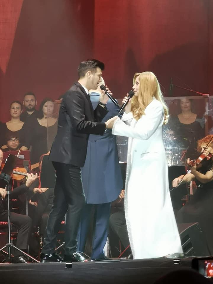Bogdan Mihai si Lara Fabian