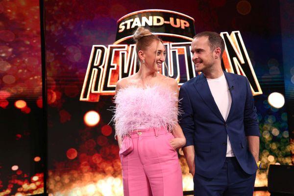 Ilona Brezoianu și Șerban Copoț prezintă Stand-up Revolution, la Antena 1